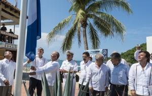 Gabino Goberndor  Bandera Azul Chahue