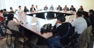 Mesa de trabajo entre diputados y Periodistas 4
